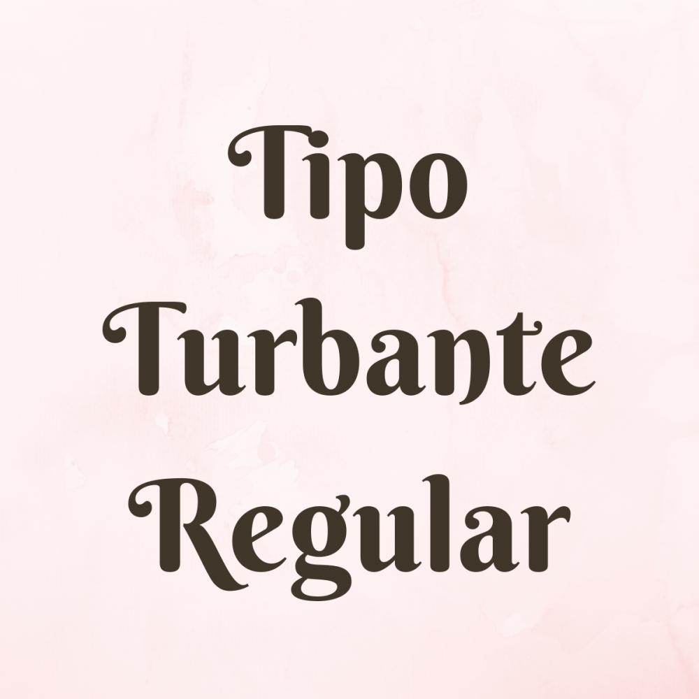 Vincha Tipo Turbante Regular