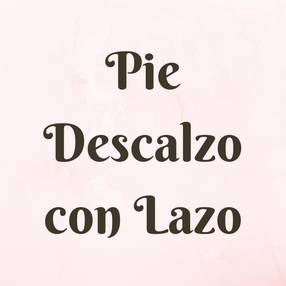 Sandalias Pie Descalzo con Lazo