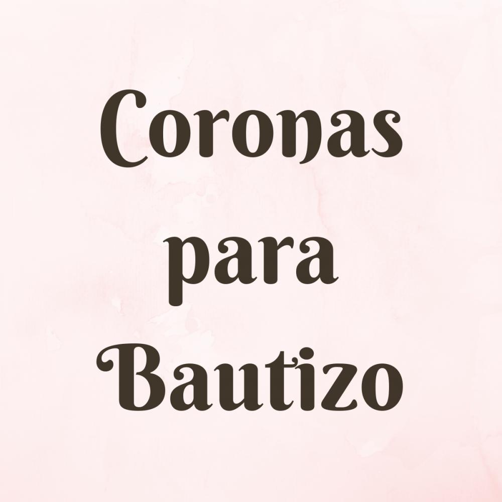 Coronas para Bautizo