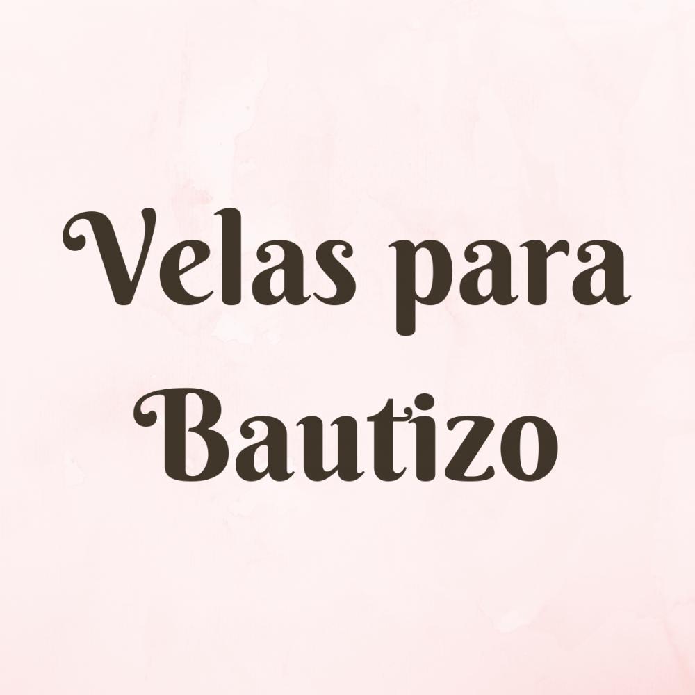 Velas para Bautizo