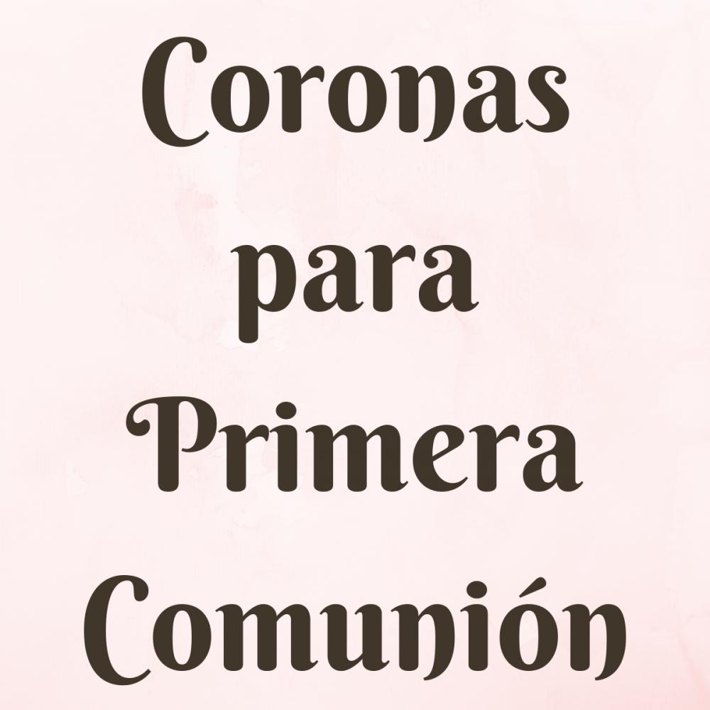 Coronas para Primera Comunión