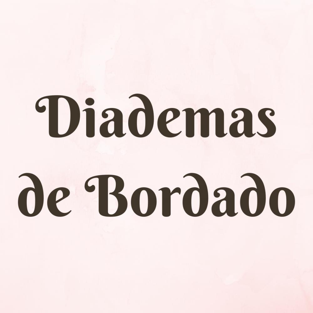 Diademas de Bordado