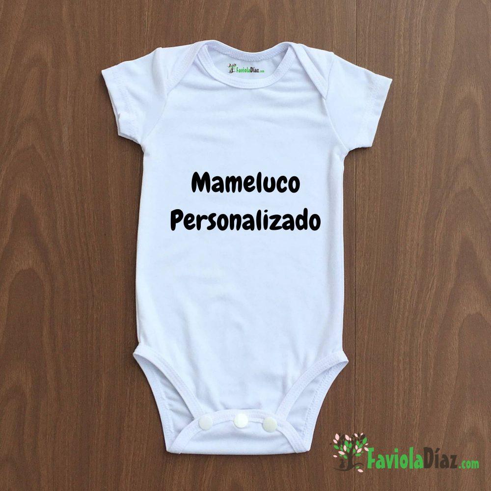 Mameluco Personalizado