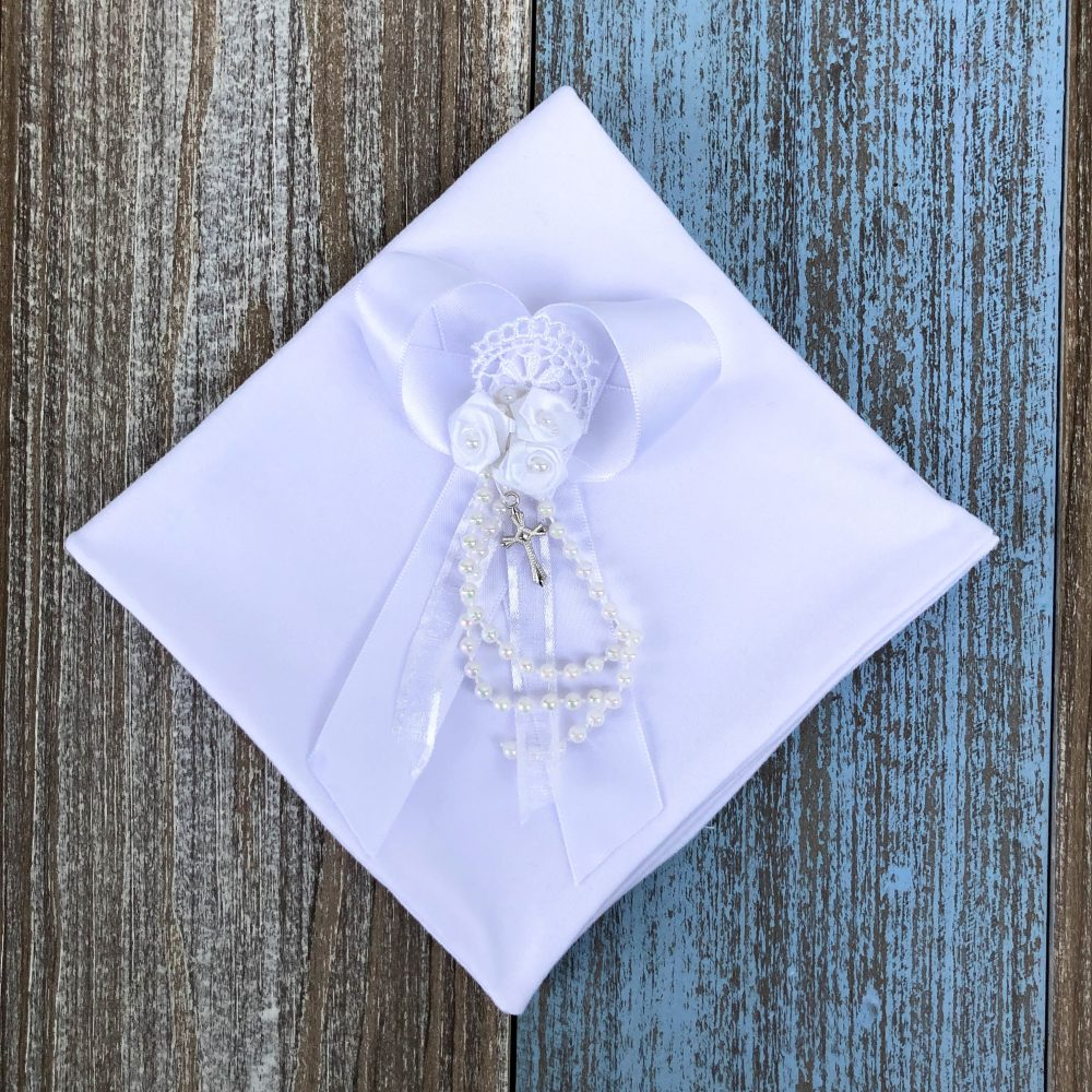 Paño Blanco con Perlas Becca