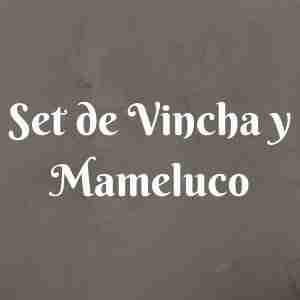 Set de Vincha y Mameluco